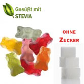Zuckerfreie Fruchtgummi bedrucken