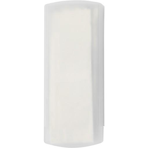 Pflasterbox 'Pocket' aus Kunststoff | Weiß