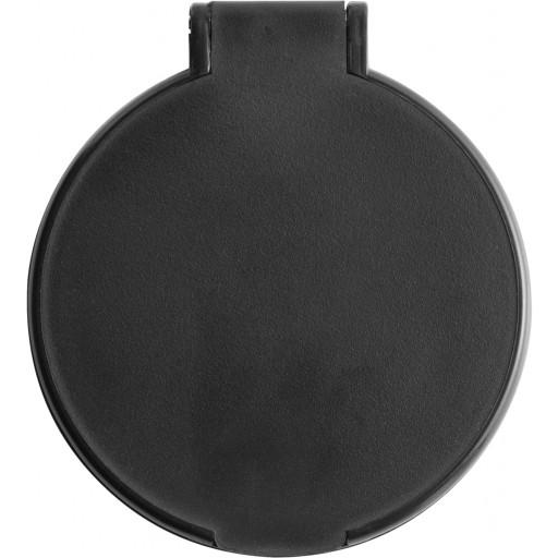 Kosmetikspiegel 'Pocket' aus Kunststoff | Schwarz