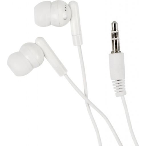 Kopfhörer 'Universal' aus Kunststoff/Metall | Weiß
