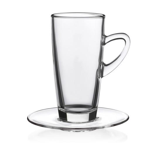 Porzellan-Tasse Kenia Slim Glastasse, klar