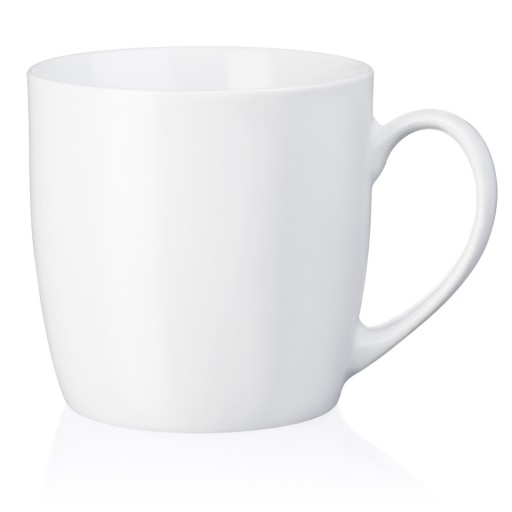 Porzellan-Tasse Kuba, weiß I white 41 cl