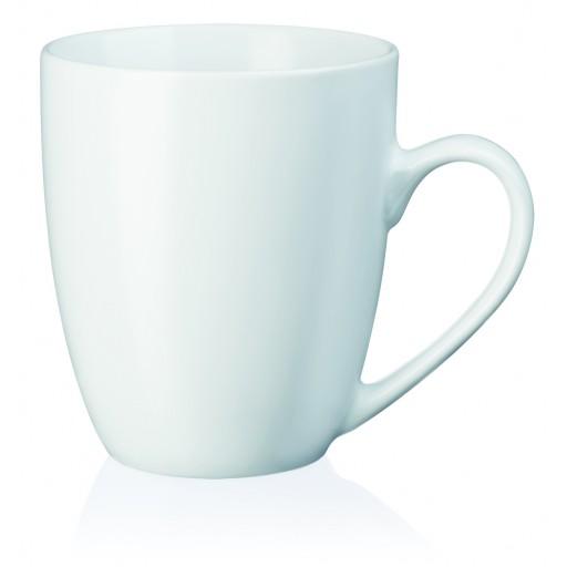 Porzellan-Tasse Como, weiß 32 cl