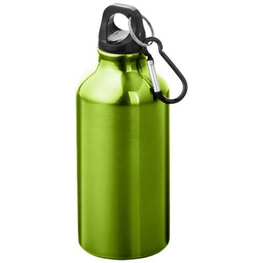 Oregon 400 ml Trinkflasche mit Karabiner | Apfelgrün