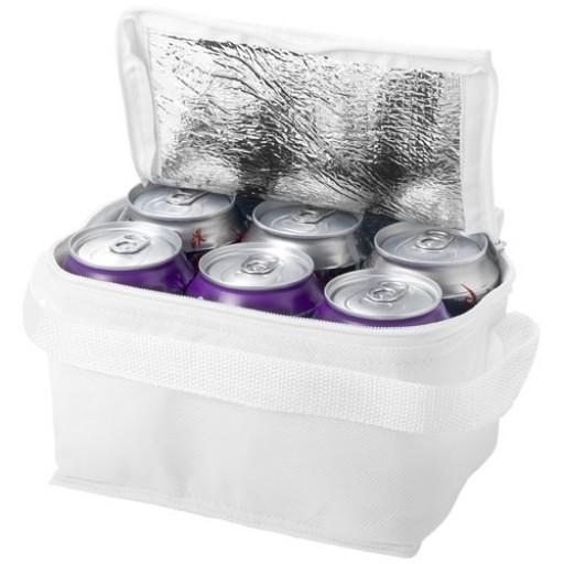 Spectrum Kühltasche für 6 Dosen | Weiss