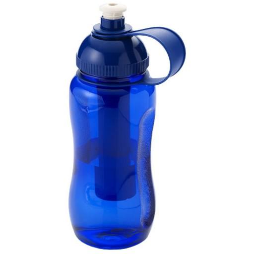 Yukon 500 ml Trinkflasche mit Eisfach | Blau