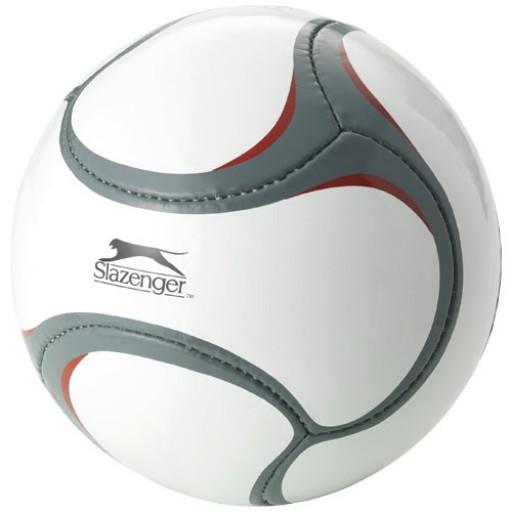 Libertadores Fußball mit 6 Segmenten   Weiss,Grau