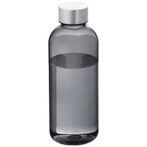 Spring 600 ml Trinkflasche | Transparent Schwarz