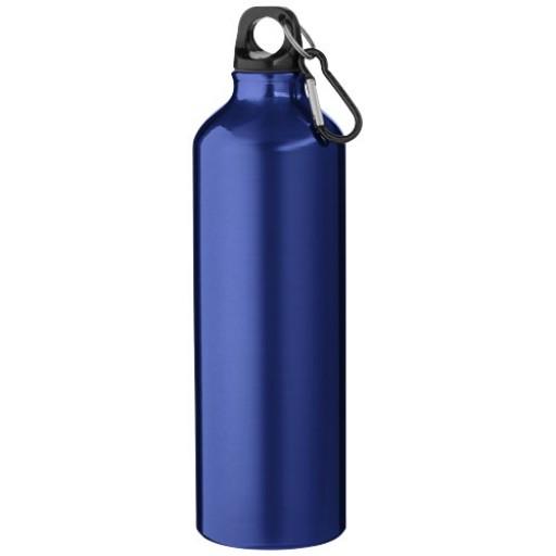Pacific 770 ml Trinkflasche mit Karabiner | Blau