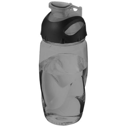 Gobi 500 ml Sportflasche | Transparent Schwarz