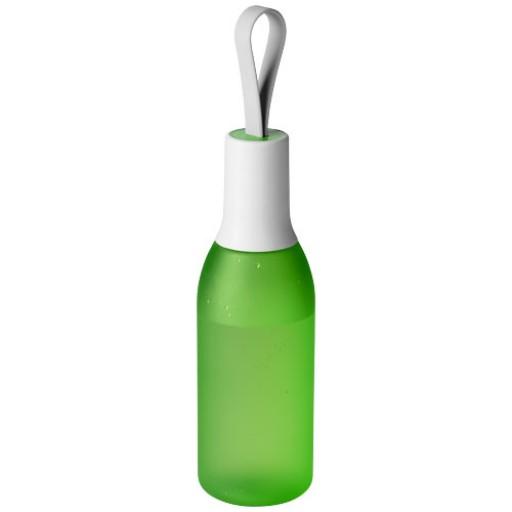 Flow 650 ml Flasche | Grün Mattiert,Weiss