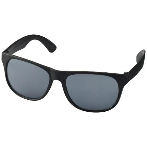 Retro Sonnenbrille   Schwarz