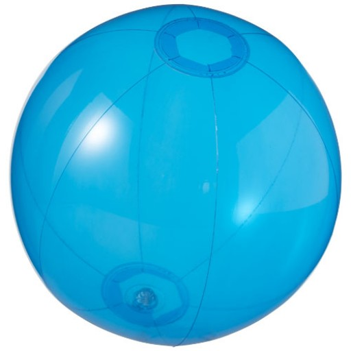 Ibiza transparenter Wasserball | Blau