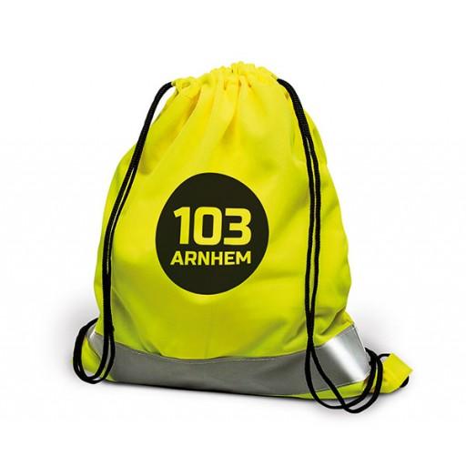 Sicherheits-Rucksack Arnhem | Gelb mit Ihrem Werbedruck
