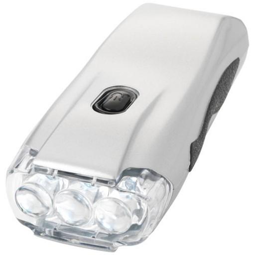 Capella Dynamo Taschenlampe | Silber