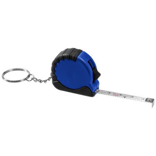 Habana Schlüsselanhänger mit 1 m Maßband   Blau