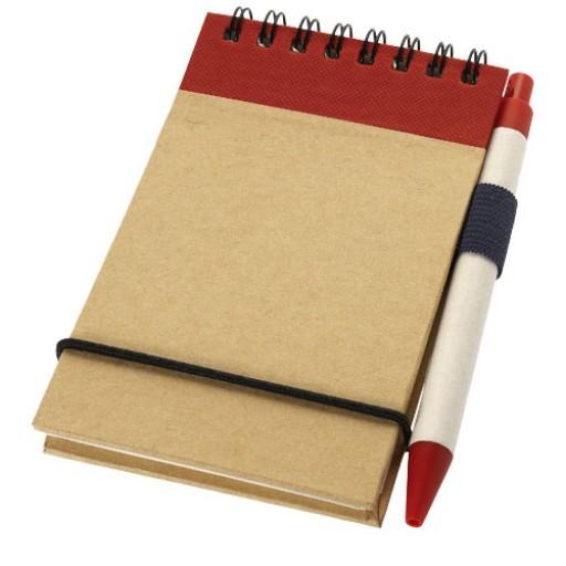 Zuse Notizbuch mit Stift | Rot