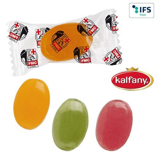 Bonbons im Flowpack | Fruchtmix | 1-farbig