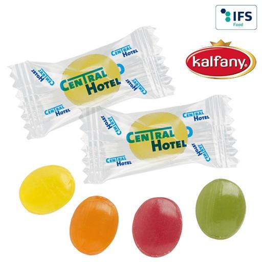 Mini-Bonbons im Flowpack | Fruchtmix | 1-farbig