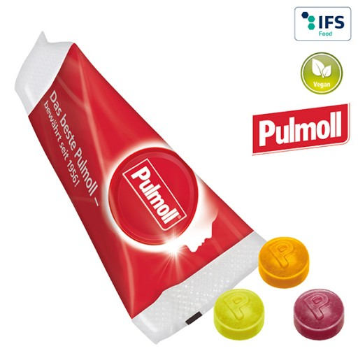 Promo-Spitz mit Pulmoll Halsbonbons | 1-farbig