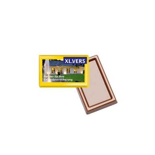 MINI-Schokoladen-Täfelchen | 1-farbig