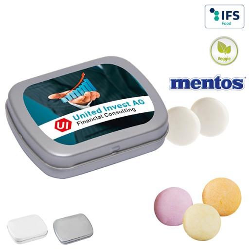MINI-Klappdose mit mentos Classic Mint | 1-farbig