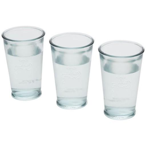 3 Wassergläser | Transparent/Klar