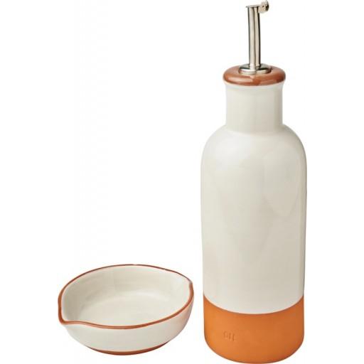 Terracotta-Sprenkler und Dip-Set | Orange