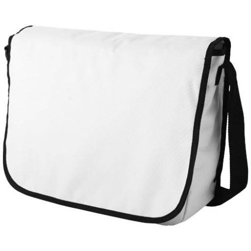 Malibu Schultertasche | Weiß