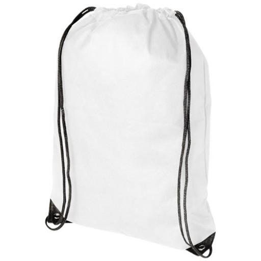 Evergreen Premium Non Woven Sportbeutel | Weiß