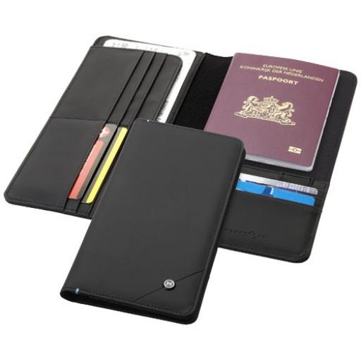 Odyssey RFID Reisebrieftasche | Schwarz