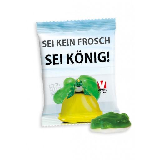 HARIBO Frosch | Transparente Folie | 4-farbig