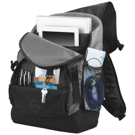 "Wellington 17"" Laptop Rucksack | Schwarz"