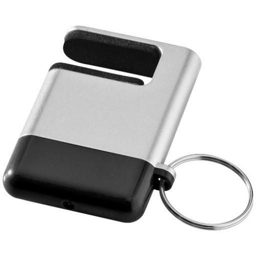 Gogo Bildschirmreiniger und Smartphone-Halter | Silber
