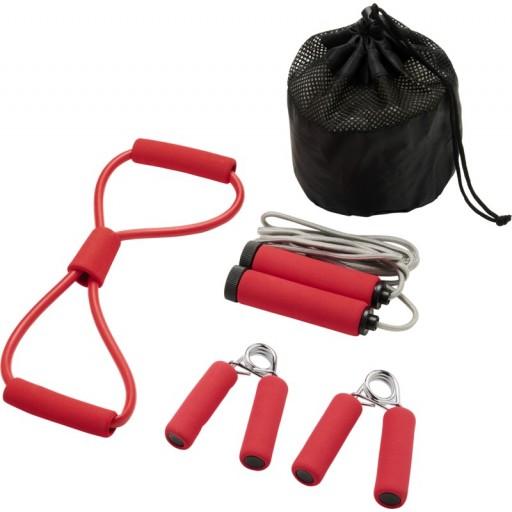 Dwayne Fitness-Set | Rot
