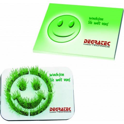 Wachsendes Logo Smiley, Zimmerrasen