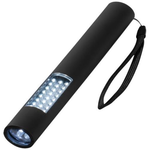 Magnet Taschenlampe mit 28 LEDs | Schwarz