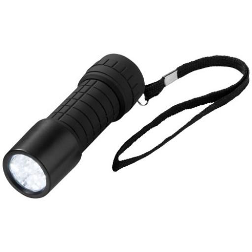 Taschenlampe mit 9 LEDs | Schwarz