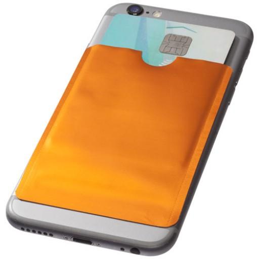 RFID Smartphone Kartenhülle | Orange