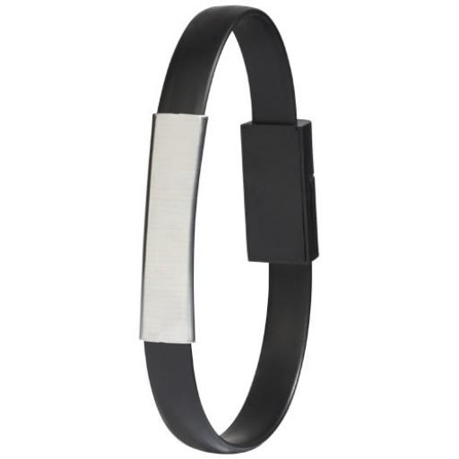 Bracelet 2-in-1 Ladekabel | Schwarz