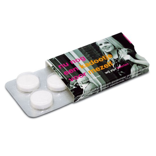 Compli´Mints Blister  5 Stück   | Digitaldruck