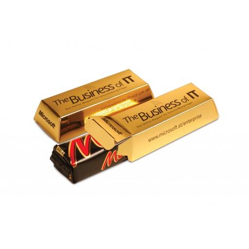 Mars®-Goldbarren | 1-farbiger Druck