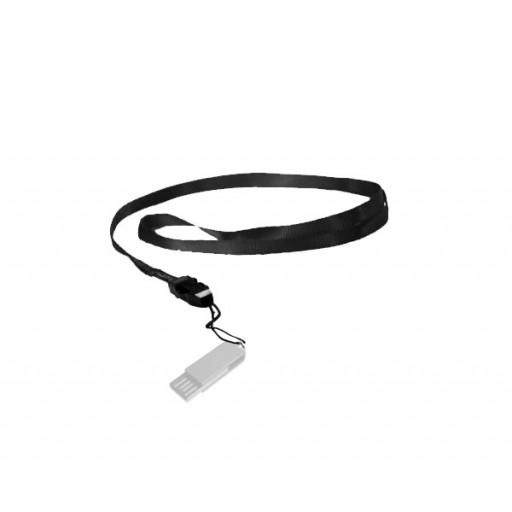 USB-Zubehör Lanyard, schwarz
