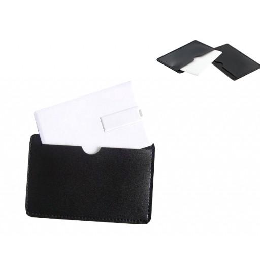 Kunstleder-Etui für USB-Karten