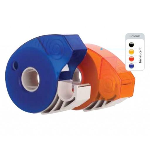 Tesa-Roller Klebebandroller Dispenser | Schwarz-transparent günstig bedrucken lassen