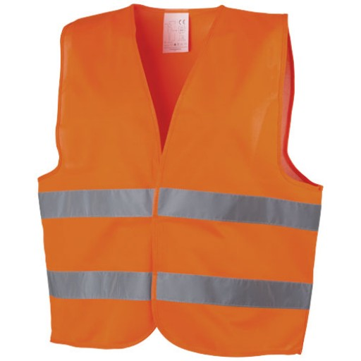 Professionelle Warnweste   Orange