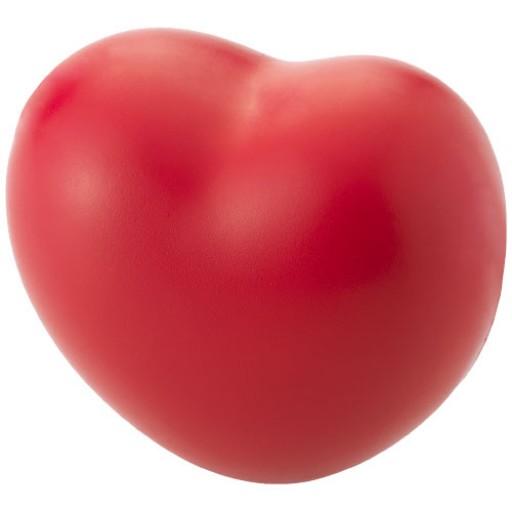 Herzförmiger Anti-Stressball | Rot