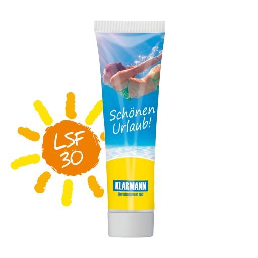 Sonnenmilch LSF 30, 20 ml (weiß)