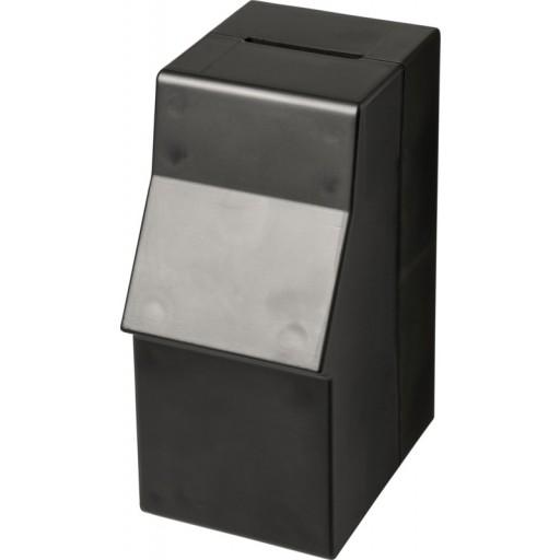 Capital Kunststoff-Spardose in Form eines Geldautomaten | Schwarz