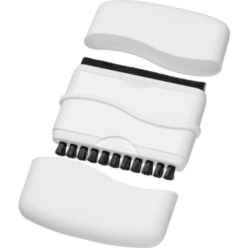 Broom Desktop Reiniger mit Bürste | Weiss